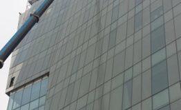 5 - colocación vidrios facahada 2